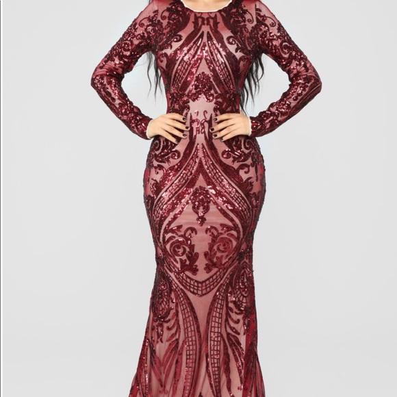 1ff4a44791ef Fashion Nova Dresses | New Last One Unforgettable Romance Sequin ...